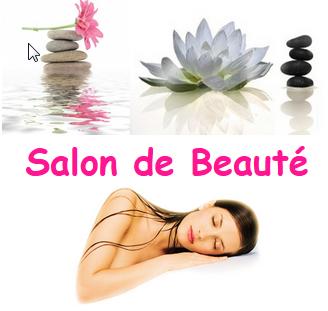 Salon de beauté - Cadre rose