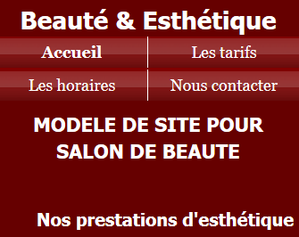 Salon de beauté - Fond rose