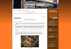 Blog - Fond marron