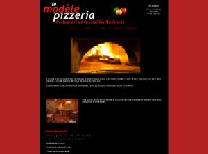Pizzeria - Rouge et noir