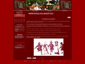 Association - Fond rouge