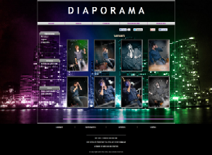 Diaporama - Fond avec photo