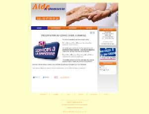 Aide à domicile - Blanc