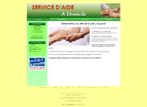 Aide à domicile - Vert